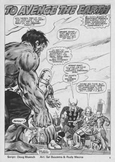 Extrait de Rampaging Hulk Vol.1 (The) (Marvel Comics - 1977) -9- To Avenge the Earth!