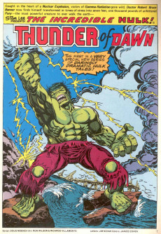 Extrait de Hulk (The) (Marvel Comics - 1978) -10- Thunder of Dawn!