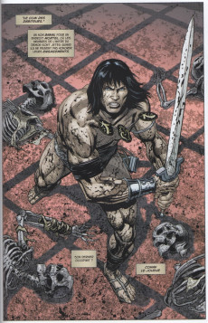 Extrait de Savage Sword of Conan -2- Conan le Joueur