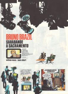 Extrait de Bruno Brazil -6a1978- Sarabande à Sacramento