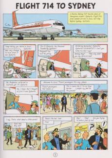 Extrait de Tintin (The Adventures of) -22e2004- Flight 714 to Sydney