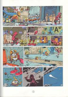 Extrait de Spirou et Fantasio -36a1989- L'horloger de la comète