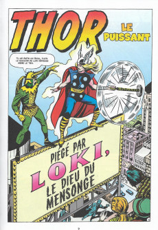 Extrait de Marvel - Les Grandes Batailles -8- Thor VS Loki