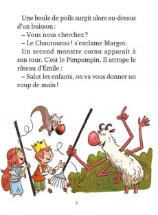 Extrait de Youpi, je lis ! -40- Émile et Margot - Ne regardez pas le Pétrifix !