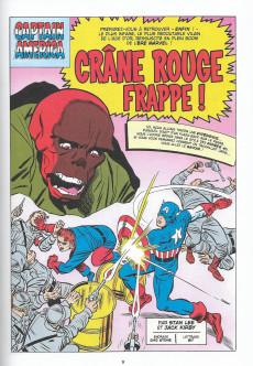Extrait de Marvel - Les Grandes Batailles -9- Captain America VS Crâne Rouge