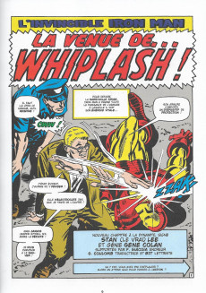 Extrait de Marvel - Les Grandes Batailles -10- Iron Man VS Whiplash