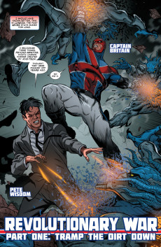Extrait de Revolutionary War (Marvel Comics - 2014) -01- Revolutionary War: Alpha