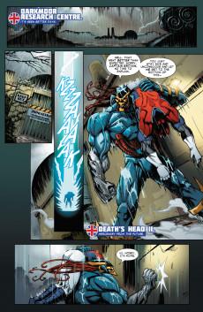 Extrait de Revolutionary War (Marvel Comics - 2014) -04- Revolutionary War: Death's Head II