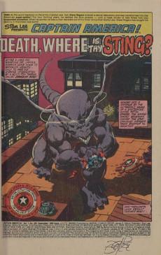 Extrait de Captain America (Marvel comics - 1968) -249- Death, Where Is Thy Sting?