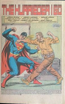 Extrait de Adventures of Superman (The) (1987) -440- The Hurrieder I Go