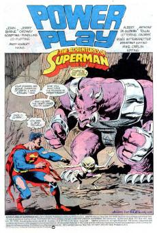 Extrait de Adventures of Superman (The) (1987) -442- Power Play