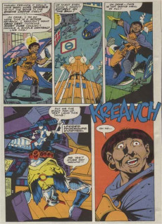 Extrait de Death's Head (The Incomplete) (Marvel UK - 1993) -8- Armor-Piercing Action with Big Shot