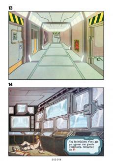 Extrait de Space Unit - La BD dont vous êtes le héros -1- Mission : Tartarus III