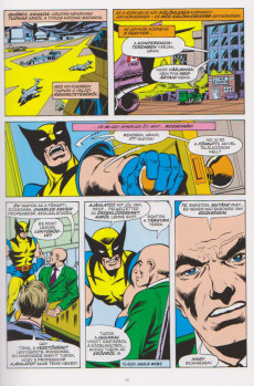 Extrait de X-Men (en hongrois) -1- Új Nemzedék