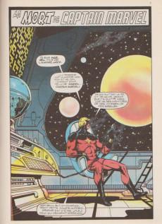 Extrait de Top BD -2- La mort de Captain Marvel
