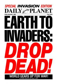 Extrait de Invasion! (DC comics - 1988) -HS- Daily Planet Invasion Special #1