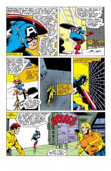 Extrait de Captain America (Marvel comics - 1968) -Int- War & remembrance