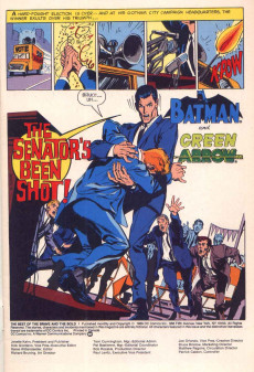 Extrait de Best of The Brave and The Bold (1988) -1- The Senator's Been Shot!