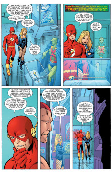 Extrait de JLA: Classified (DC comics - 2005) -51- That Was Now, This is Then, Part Two: First Contact