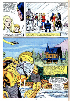 Extrait de Alpha Flight (Marvel comics - 1983) -38- Pestilence!