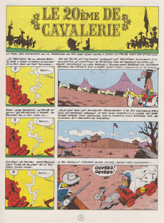 Extrait de Lucky Luke -27a1969- Le 20ème de cavalerie