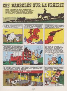 Extrait de Lucky Luke -29a1970- Des barbelés sur la prairie