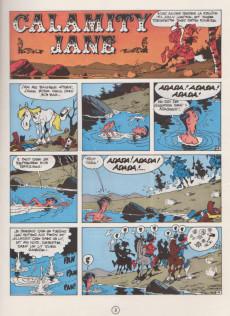 Extrait de Lucky Luke -30a1970'- Calamity Jane