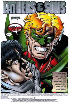 Extrait de Green Lantern/Sentinel: Heart of Darkness (1998) -1- Fathers & Sons