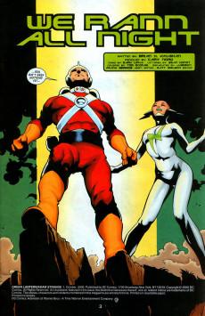 Extrait de Green Lantern and Adam Strange (2000) -1- We Rann All Night