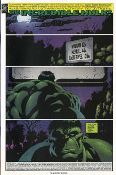 Extrait de Incredible Hulk (The) (Marvel comics - 2000) -26- Do You Know Where You're Going?