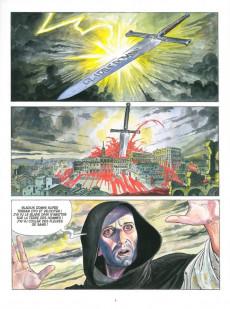 Extrait de Borgia (Jodorowsky/Manara) -1b2019- Du sang pour le pape