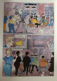 Extrait de Tintin - Pastiches, parodies & pirates -TL2018- La Vie sexuelle de Tintin