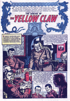 Extrait de Yellow Claw (Atlas Comics - 1954) -1- Issue # 1