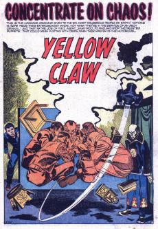 Extrait de Yellow Claw (Atlas Comics - 1954) -2- The Trap