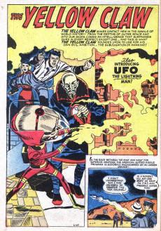 Extrait de Yellow Claw (Atlas Comics - 1954) -3- Sleeping City