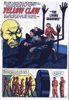 Extrait de Yellow Claw (Atlas Comics - 1954) -4- Living Shadows