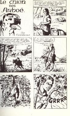 Extrait de Chevalier Ardent (Rijperman et autres) -3- Le chien des Arboë