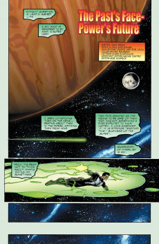 Extrait de Green Lantern: Our Worlds at War (2001) -1- The Past's Face - Power's Future