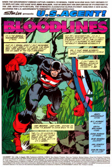 Extrait de U.S. Agent (1993) -3- Bloodlines