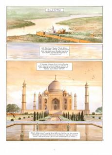Extrait de India dreams -3- À l'ombre des bougainvillées