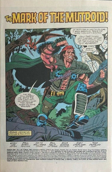 Extrait de Ravage 2099 (Marvel comics - 1992) -4- How Can One Man Hope to Win Against the Mighty Mutroids?