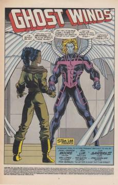 Extrait de X-Men 2099 (Marvel comics - 1993) -8- Ghost Winds