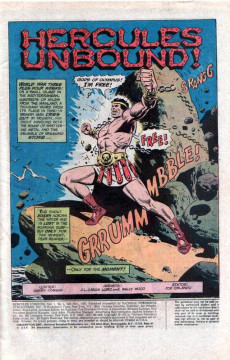 Extrait de Hercules Unbound (DC Comics - 1975) -1- Issue # 1