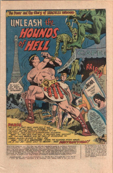 Extrait de Hercules Unbound (DC Comics - 1975) -2- Issue # 2