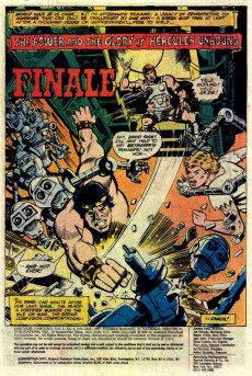 Extrait de Hercules Unbound (DC Comics - 1975) -9- Issue # 9