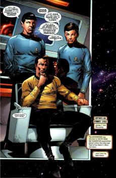 Extrait de Star Trek/X-Men (1996) -1- Star TreX