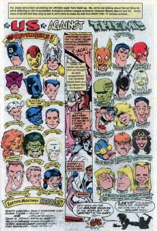 Extrait de What the..?! (Marvel comics - 1988) -7- The Revengers vs. Just-A-League