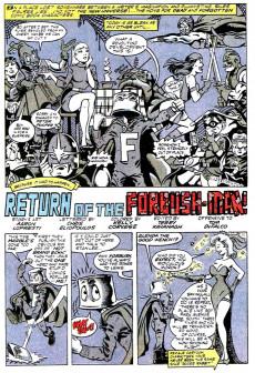 Extrait de What the..?! (Marvel comics - 1988) -8- Forbush-Man Strikes Back!