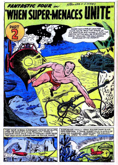 Extrait de Marvel Treasury Edition (Marvel Comics - 1974) -2- Issue # 2