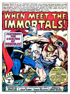 Extrait de Marvel Treasury Edition (Marvel Comics - 1974) -3- Issue # 3
